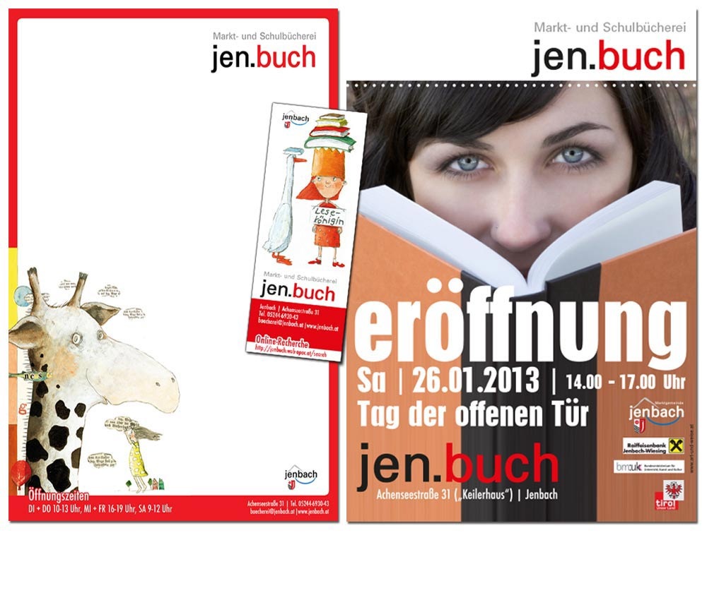 Flyer Design Logoerstellung Jenbach